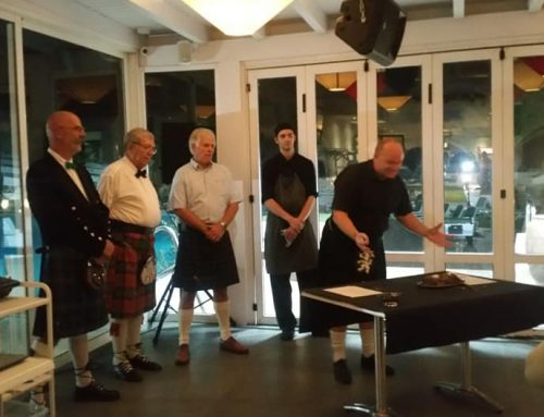 Burns Supper results 2019